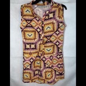 NEW THE ODELLS Girls sz 4 dress yellow purple NWT